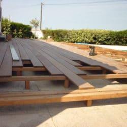 sommaire construction terrasse bois exotique