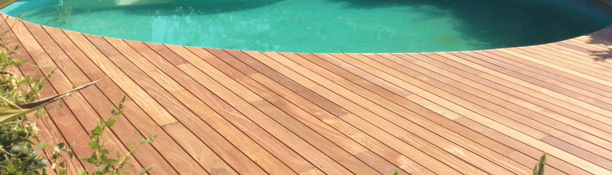 réalisation terrasse bois cumaru